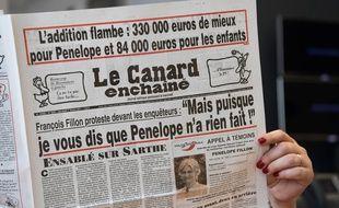 L'édition du «Canard enchaîné» du 1er février 2017 contient de nombreuses révélations sur l'affaire Penelope Fillon.