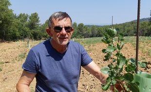 Jean-Louis Joseph espère produire deux tonnes de pistache par an.