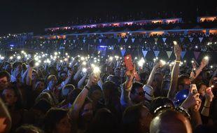 Le public des Francofolies de La Rochelle le 13 juillet 2016