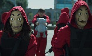 Image extraite de la saison 3 de « La Casa de Papel ».