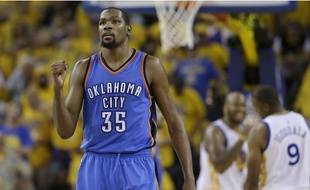 Kévin Durant pendant les finales NBA
