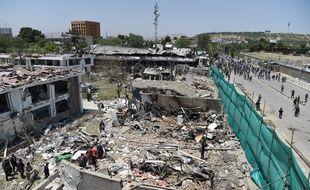 L'attentat au camion piégé près de Zanbaq Square à Kaboul en Afghanistan, le 2 juin 2017, a fait plus de 150 morts.