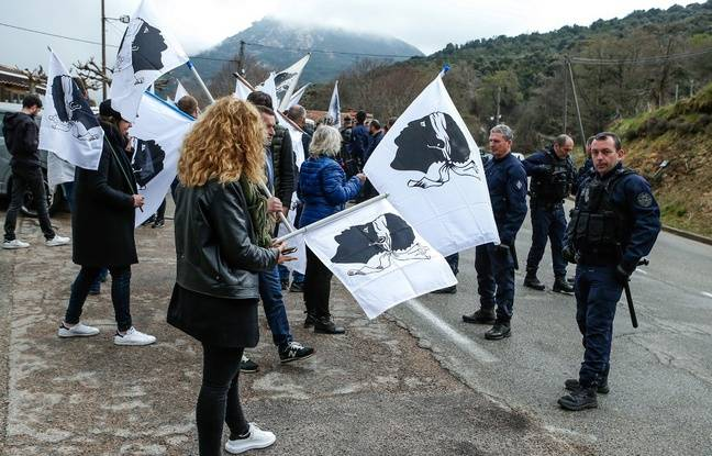 Corse: Plusieurs arrestations après les attentats en marge de la visite d'Emmanuel Macron