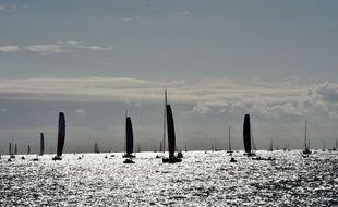 Le départ du Vendée Globe 2016