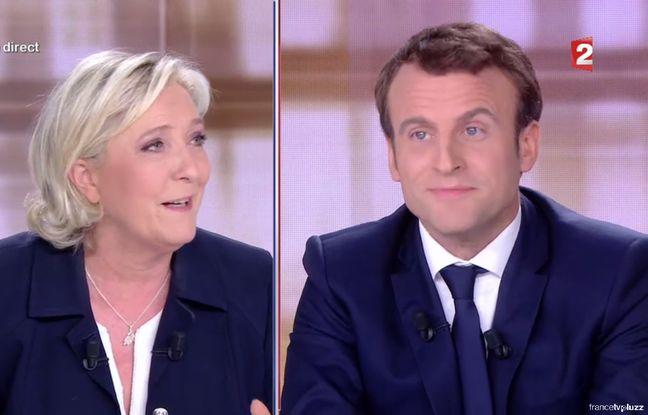 VIDEO. Présidentielle: Comment Marine Le Pen a multiplié les intox sur Macron pendant le débat dans actualitas france 648x415_marine-pen-emmanuel-macron-lors-debat-presidentiel-3-mai-2017