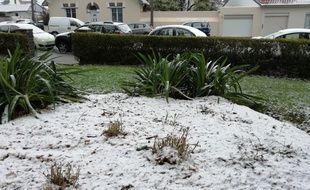 Il a neigé cette nuit à Nantes