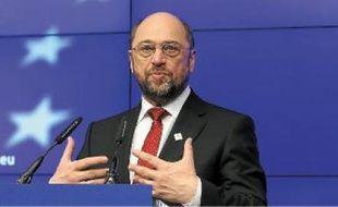 Le président du Parlement européen, Martin Schulz