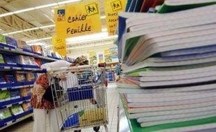"""Le ministre en charge de la Famille Xavier Bertrand a affirmé vendredi à Clichy (Hauts-de-Seine) que la modulation de l'Allocation de rentrée scolaire (ARS) en fonction de l'âge des enfants, en cours de discussion, ne fera """"aucun perdant""""."""