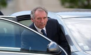 François Bayrou arrivant à l'Elysée le 25 juin 2016.