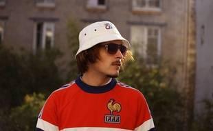 Le rappeur rennais Lorenzo, autoproclamé Empereur du Sale.