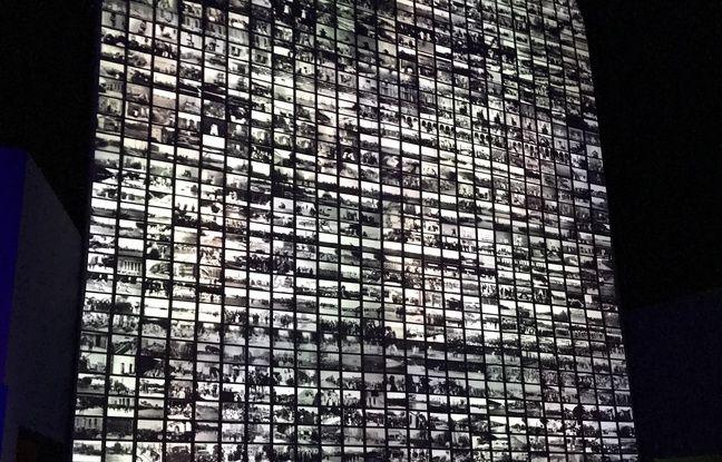 Les quelques 1422 films des frères Lumière, rassemblés sur un seul écran