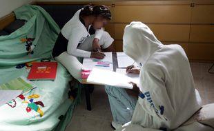 Des mineurs isolés pris en charge par la Croix-Rouge dans le Val-d'OIse en 2003. (Illustration)
