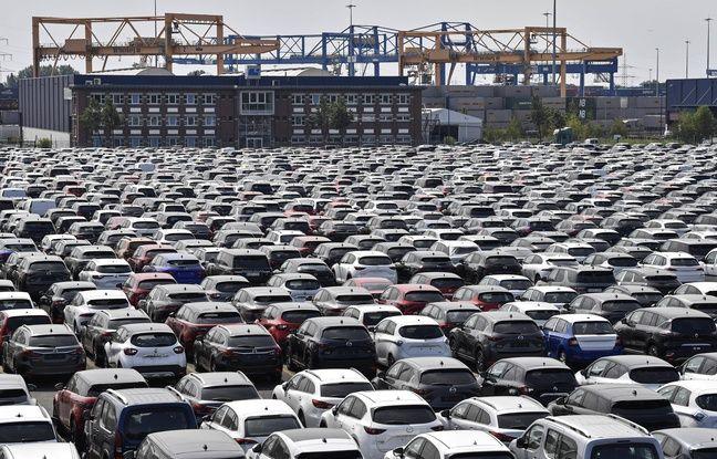 648x415 des voitures neuves au port de duisburg en allemagne le 3 juin 2020