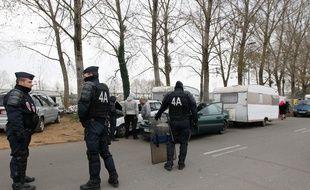 Expulsion de familles roms à Nantes.