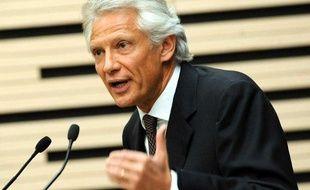 Dominique de Villepin, le 1er avril 2009 à l'Assemblée nationale.