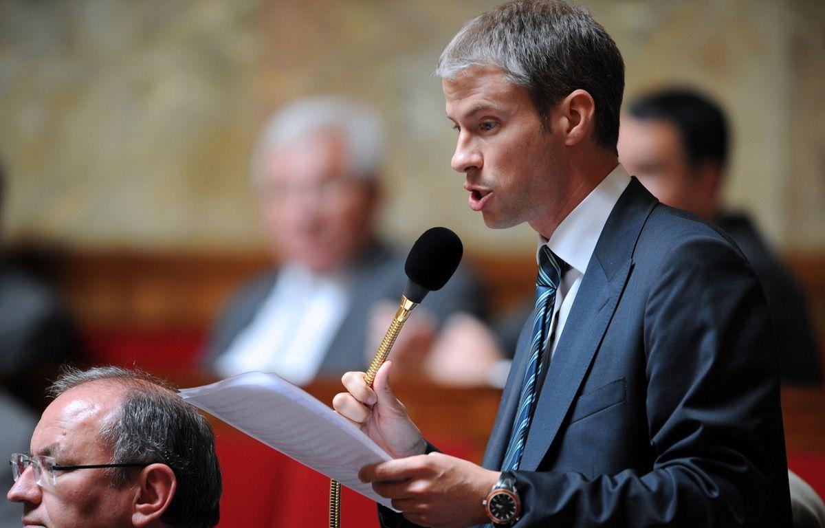 Franck Riester en 2009 – BORIS HORVAT / AFP