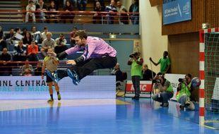 Mickaël Robin n'aura joué que quinze minutes lors du Final Four, au Kindarena de Rouen.