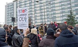 Environ 50habitants du quartier de La Courtille étaient rassemblés hier.