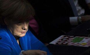Angela Merkel à Berlin le 22 octobre 2013.