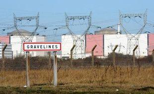 La centrale nucléaire de Gravelines le 5 mars 2014