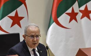 Le ministre algérien des Affaires étrangères, Ramtane Lamamra à Alger, le 24 août 2021.
