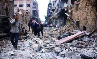 Syrie: au moins 8 civils tués dans des raids du régime à Douma
