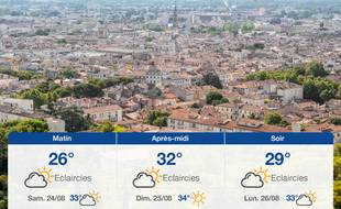 Météo Nîmes: Prévisions du vendredi 23 août 2019