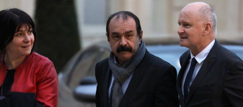 Philippe Martinez le 30 janvier 2018 à Paris.