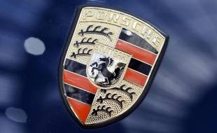 Le logo Porsche (illustration)