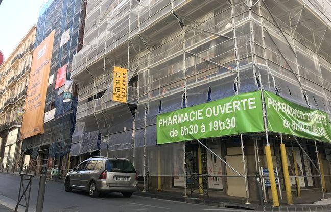 Les echafaudages se comptent par dizaines dans les rues de Marseille.