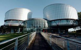 La Cour européenne des droits de l'homme (CEDH), à Strasbourg le 14 octobre 2014