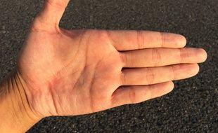 Dur dur d'être gaucher.
