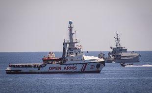 Le ministre de l'Intérieur Matteo Salvini avait accepté samedi à contrecœur de laisser débarquer 27 migrants mineurs non accompagnés.