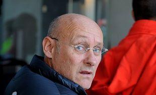Bernard Laporte, candidat à la présidence de la FFR, le 1er novembre à Grenoble