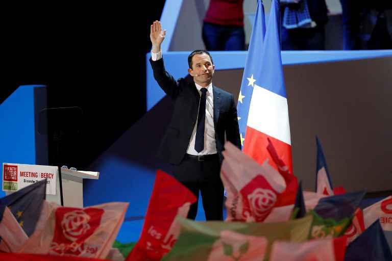 Benoît Hamon fait battre le coeur de Bercy: CL y était