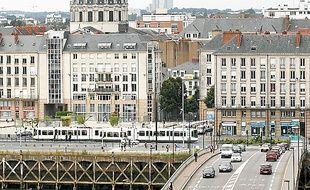 Le pont Anne-de-Bretagne à Nantes.