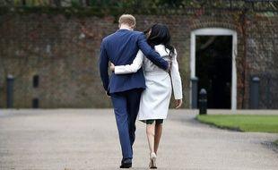 Prince Harry et Meghan Markle le 27 novembre 2017
