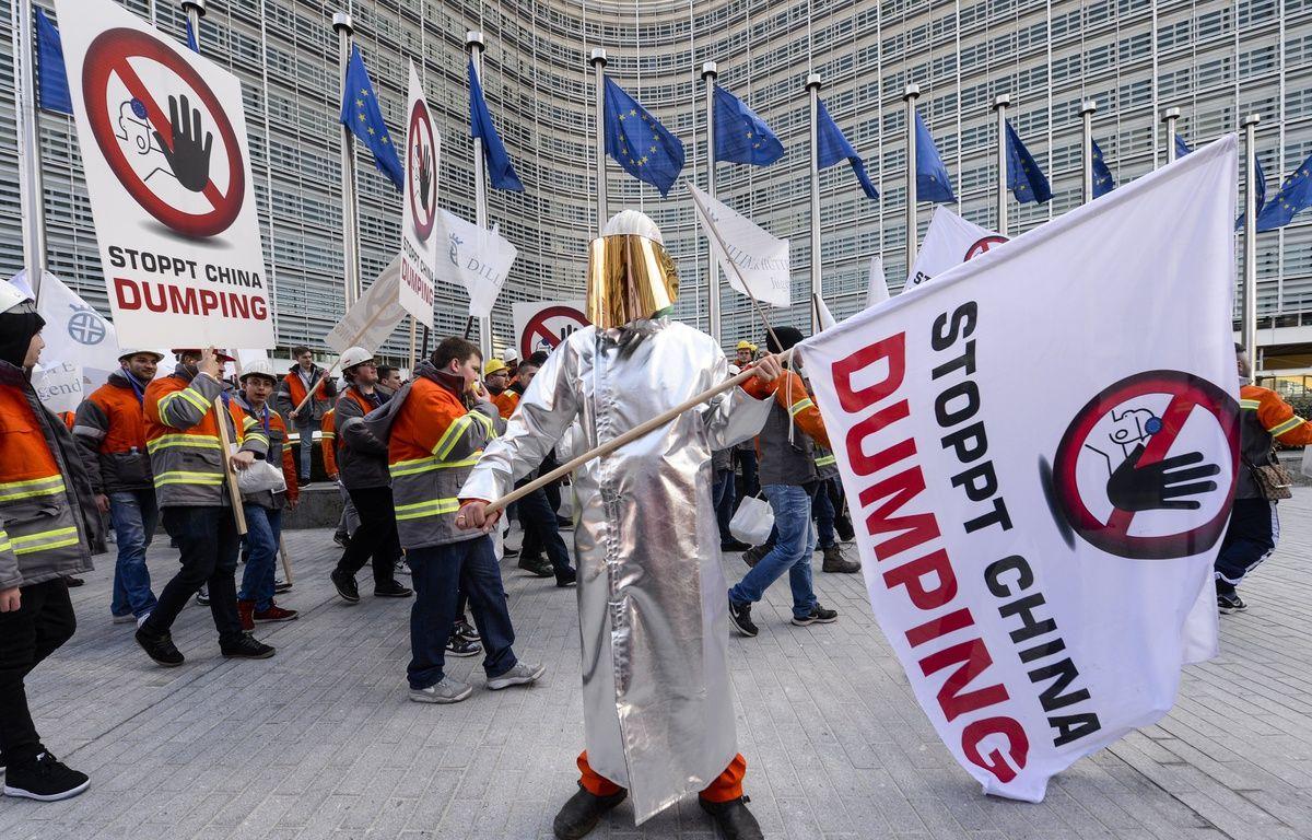 500 manifestants ont défilé à Bruxelles. – SIPA