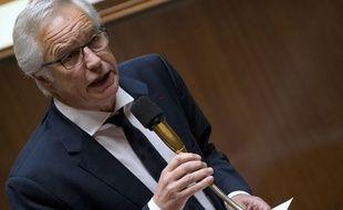 François Rebsamen à l'Assemblée nationale le 7 mai 2014.