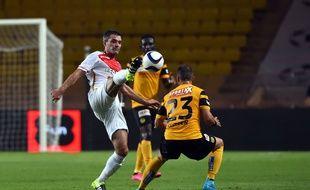 Jérémy Toulalan face aux Young Boys Bern en 3e tour préliminaire de Ligue des champions, le 4 août 2015.
