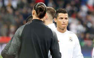 Zlatan Ibrahimovic et Ronaldo s'apprécient beaucoup, apparemment.