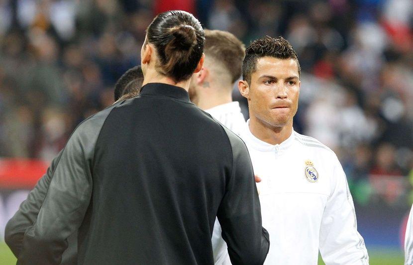 Italie: « Aller à la Juve, ce n'est pas un défi »… Ibrahimovic se farcit Ronaldo avant de revenir