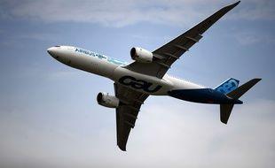 Un avion d'Airbus. Illustration.