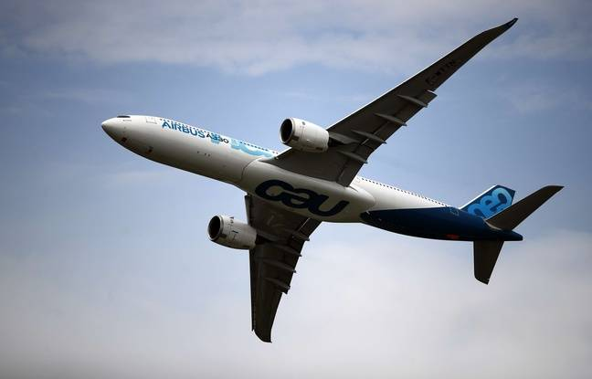 Un avion airbus