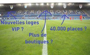 Alors, que le stade de la Meinau deviendra-t-il avec la restructuration ?