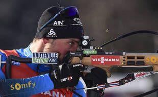 Biathlon: Le Français Simon Desthieux remporte le sprint de Nove Mesto