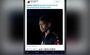 Le fameux tweet effacé par Pogba.