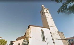 Les ossements ont été découverts près de l'église d'Oraison.