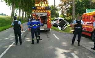 L'accident s'est produit sur la commune de Cuq-Toulza, à la limite du Tarn et de la Haute-Garonne.
