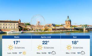Météo Toulouse: Prévisions du dimanche 14 juin 2020